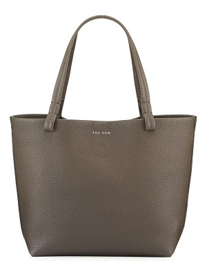 THE ROW Park Small Luxe Grained Leather Tote Bag