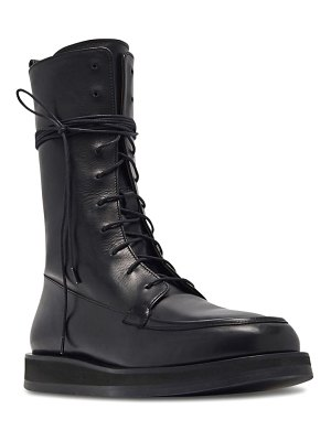 THE ROW patty lace-up combat boot