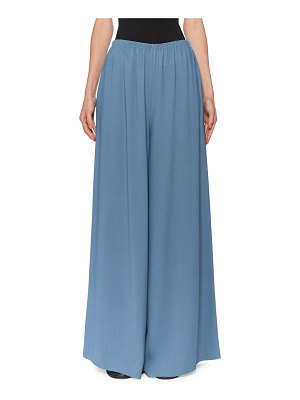 THE ROW Pavel Wide-Leg Jersey Pants