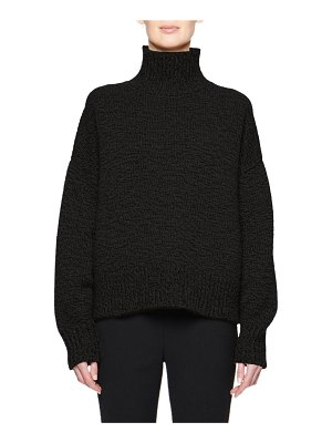 THE ROW Pheliana Cashmere-Wool Turtleneck Sweater