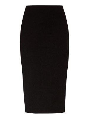 THE ROW rabina stretch-jersey pencil skirt