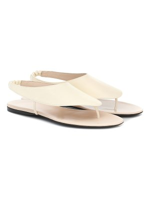 THE ROW ravello leather sandals