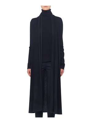 THE ROW Renate Open-Front Cashmere Cardigan