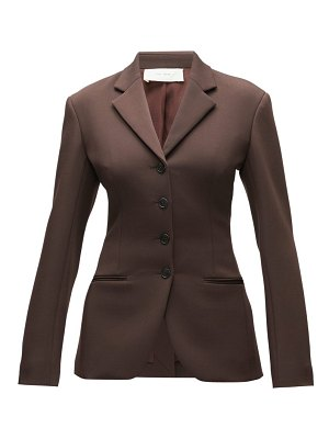 THE ROW risa single-breasted wool-blend twill blazer