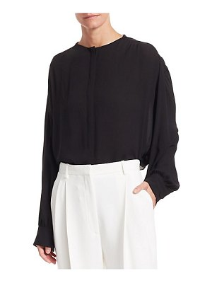 THE ROW rudi silk top