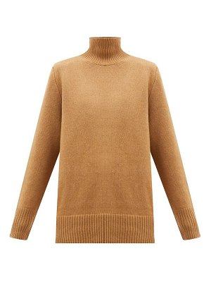 THE ROW sadel roll-neck cashmere sweater
