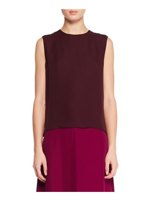 THE ROW Shelly Sleeveless Silk Top