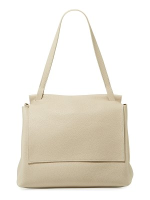 THE ROW Sidekick Two Fine Calf Leather Shoulder Bag