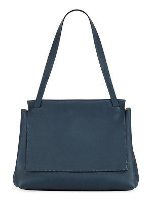 THE ROW Sidekick Two Leather Shoulder Bag