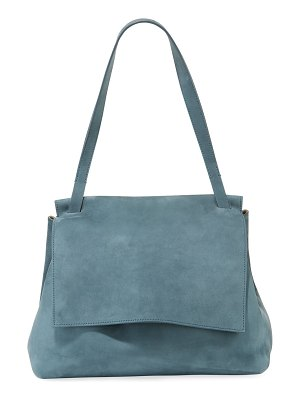 THE ROW Sidekick Two Suede Shoulder Bag