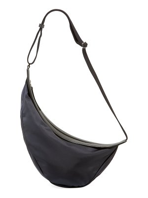 THE ROW Slouchy Banana Large Nylon Crossbody Bag