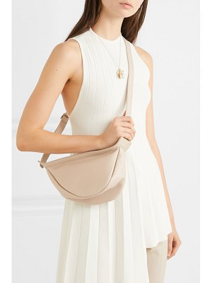 THE ROW slouchy banana small leather shoulder bag