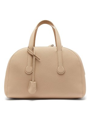 THE ROW sporty bowler 12 grained leather bag