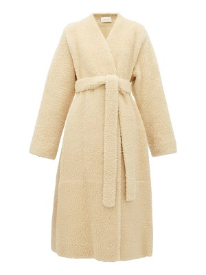 THE ROW tanilo merinillo-shearling wrap coat