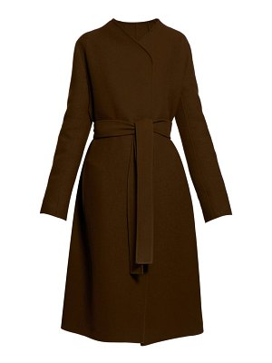THE ROW terin belted wool blend coat