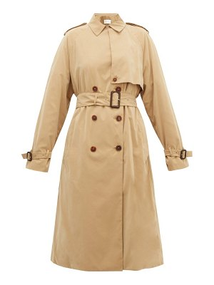 THE ROW triana double-breasted trench coat