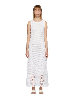 THE ROW white atis dress