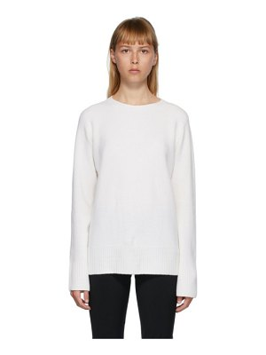 THE ROW white sibel sweater