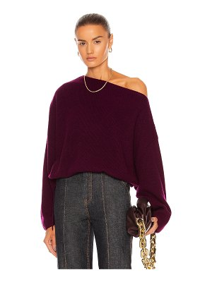The Sei off shoulder sweater with ties