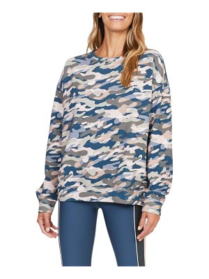 THE UPSIDE Alena Himalaya Camo Crewneck Top