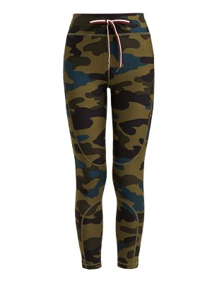 THE UPSIDE army camouflage print leggings