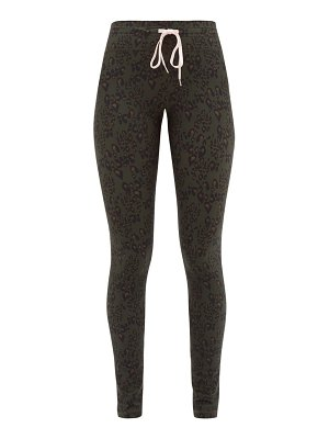 THE UPSIDE army leopard print technical jersey leggings