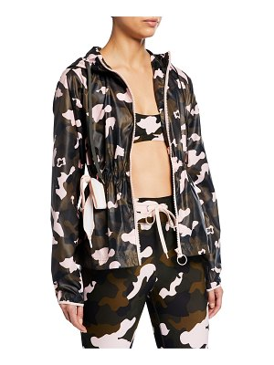 THE UPSIDE Ash Forest Camo-Print Active Jacket