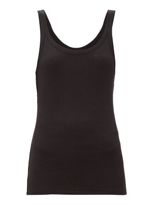 THE UPSIDE boyfriend ribbed cotton tank top