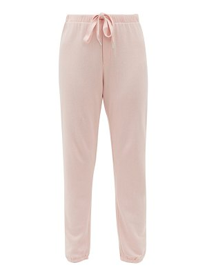 THE UPSIDE brie one love cotton trackpants