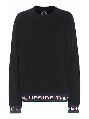 THE UPSIDE cotton sweatshirt