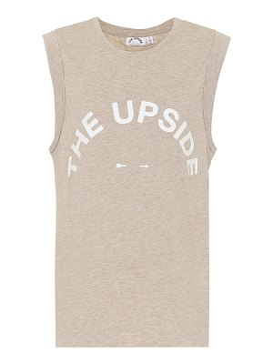 THE UPSIDE cotton tank top