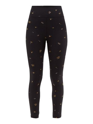 THE UPSIDE ditsy technical-jersey leggings