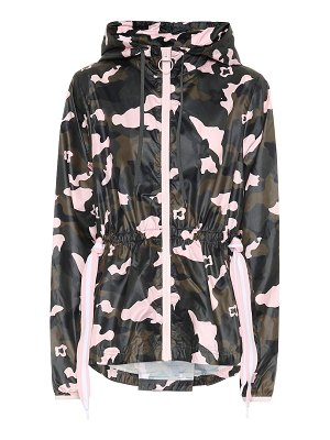 THE UPSIDE forest camo ash track jacket