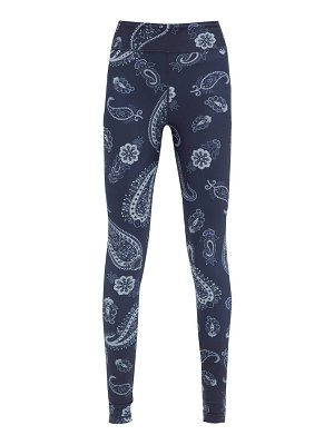 THE UPSIDE fortune paisley-print stretch-jersey leggings