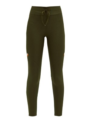 THE UPSIDE freedom embroidered stretch-jersey leggings
