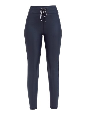 THE UPSIDE icon technical-jersey performance leggings