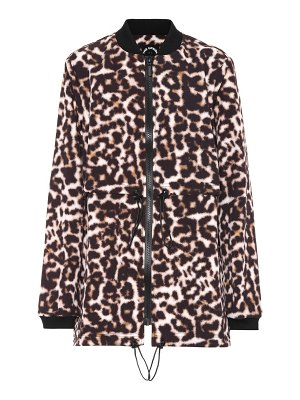 THE UPSIDE Leopard-printed jacket