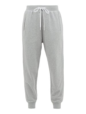 THE UPSIDE one love cotton-jersey track pants