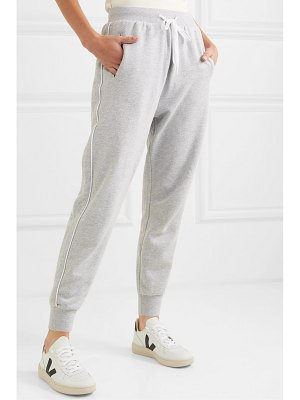 THE UPSIDE one love cotton-terry track pants
