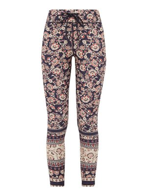 THE UPSIDE paisley print stretch jersey cropped leggings