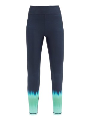 THE UPSIDE paradise ombre-print stretch-jersey leggings