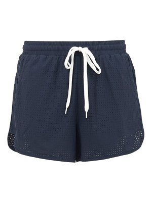 THE UPSIDE perforated performance shorts