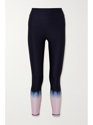 THE UPSIDE seawater tie-dyed stretch leggings