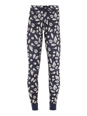 THE UPSIDE shell-print stretch-jersey leggings