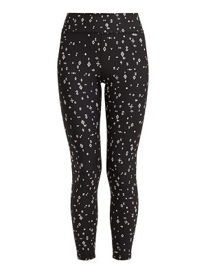 THE UPSIDE signs print performance leggings