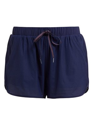 THE UPSIDE track perforated running shorts
