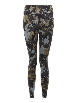 THE UPSIDE twilight camouflage technical-jersey 7/8 leggings