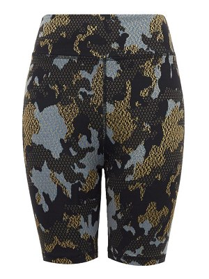 THE UPSIDE twilight camouflage technical-jersey shorts