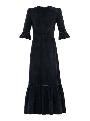 THE VAMPIRE'S WIFE the festival jumbo-cord cotton midi dress