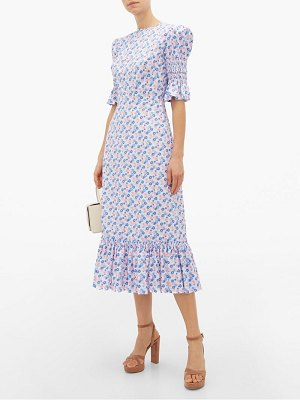 THE VAMPIRE'S WIFE the night flight floral print midi dress